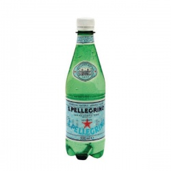 San Pellegrino Sparkling Natural Mineral Water 500ml Bottles (Pack of 24) 12132530