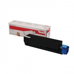 OKI Black Toner Cartridge High Yield 45807106