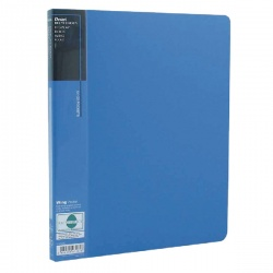 Pentel Recycology Wing Display Book A4 20 Pocket Blue (Pack of 10) DCF442C