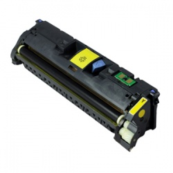 HP Q3962A Toner Cartridge Yellow 4K - Remanufactured