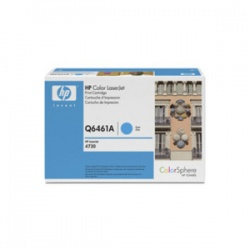 HP Q6461A Toner Cartridge Cyan - Remanufactured