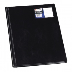 Rexel Nyrex Slimview Display Book A4 Black 12 Pocket 10005BK