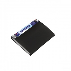 Rexel See and Store A4 Display Book 20 Pocket Black 10555BK