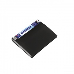 Rexel See and Store A4 Display Book 40 Pocket Black 10560BK