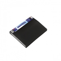 Rexel See and Store A4 Display Book 60 Pocket Black 10565BK