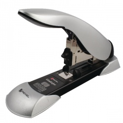 Rexel Gladiator Heavy Duty Stapler Silver and Black 2100591