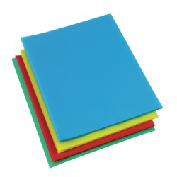 Rexel Nyrex Cut Back Folder Polypropylene A4 Assorted (Pack of 100) 12223AS