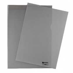 Rexel Nyrex Cut Back Folder Polypropylene A4 Clear (Pack of 100) CGFA4 12224