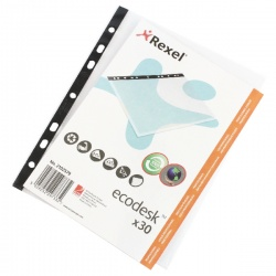 Rexel Ecodesk Pocket A5 (Pack of 30) 2102579