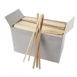 Wooden Coffee Stirrers (Pack of 1000) 3842