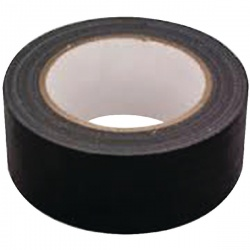 Black Waterproof Cloth Tape 48mm x 50m RY07584
