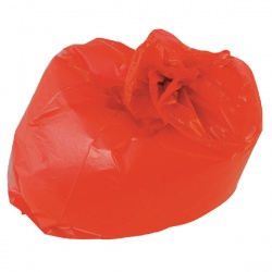 Refuse Sack 100g Red (Pack of 200) CS003