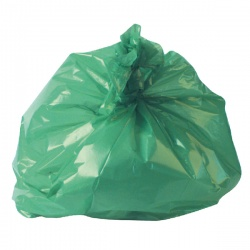 Refuse Sack 100g Green (Pack of 200) CS002