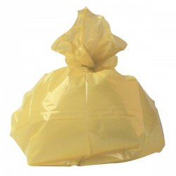 Refuse Sack 100g Yellow (Pack of 200) CS001