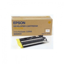 Epson C13S050034 Yellow Toner Cartridge - Remanufactured