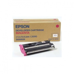 Epson C13S050035 Magenta Toner Cartridge - Remanufactured