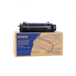 Epson C13S050087 Black Toner Cartridge - Remanufactured
