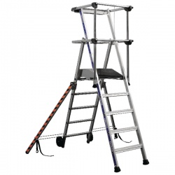 Work Platform 6 Tread Silver 307572