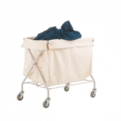 Trolley Distribution Linen Bag Grey 308611
