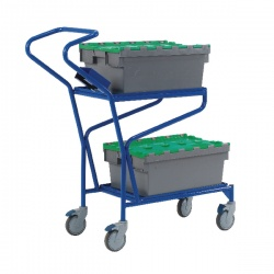 Blue Order Picking Trolley 321870