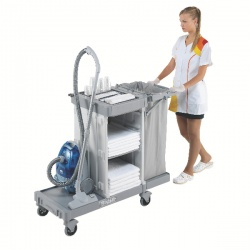 Housekeeping Trolley Large Base Grey 374981