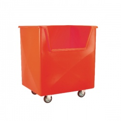 Red Order Picking Trolley 383269
