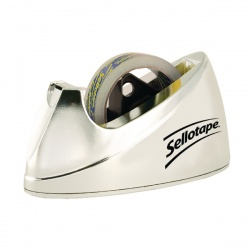 Sellotape Dispenser Chrome Large 575450