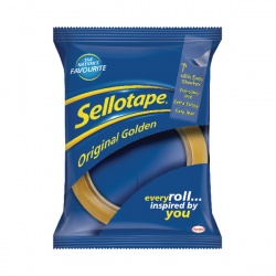 Sellotape Golden Tape 24mmx66m (Pack of 12) 1443268