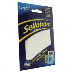 Sellotape Sticky Fixers 12x25mm (Pack of 56) 1445423