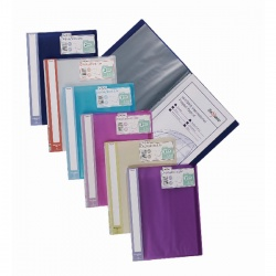 Snopake Lite Display Book 20 Pocket Assorted (Pack of 12) 15413