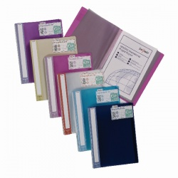 Snopake Lite Display Book 40 Pocket A4 Assorted (Pack of 12) 15415