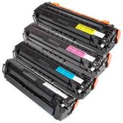 Remanufactured Samsung CLT-506S Set of Toner Cartridges