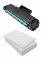Compatible Samsung MLT-D1042S Black Toner Cartridge + Free Ream of Paper