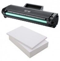 Samsung Remanufactured MLT-D1042S Black Toner Cartridge + Free Ream of Paper