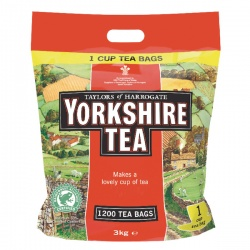 Yorkshire Tea One Cup Tea Bags (Pack of 1200) 1109