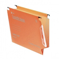 CrystalFile Orange 330mm Lateral File (Pack of 50) 70671