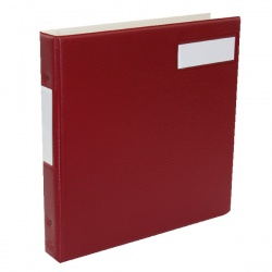 Twinlock Variform V5 Multi-Ring Binder Maroon 75152