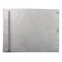 Tyvek Envelope 394 x 305mm Peel and Seal White (Pack of 100) 558024