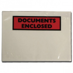 Documents Enclosed Self-Adhesive Document Envelopes A6 4302002 (Pack of 1000)