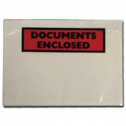 Documents Enclosed Self-Adhesive Document Envelopes A7 4302001 (Pack of 1000)