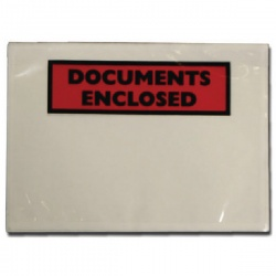 Documents Enclosed Self-Adhesive Document Envelopes DL 4302004 (Pack of 1000)