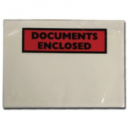 Documents Enclosed Self-Adhesive Document Envelopes A5 (Pack of 1000) 4302003
