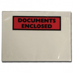 Documents Enclosed Self-Adhesive Document Envelopes A7 9743DEE01 (Pack of 100)