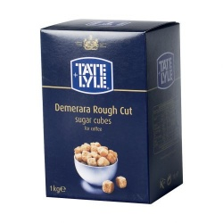 Tate & Lyle Demerara Rough-Cut Sugar Cubes (1kg)