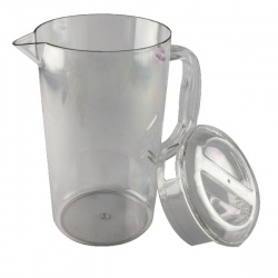 Clear Polycarbonate 1.4 Litre Jug with Lid PC64CW