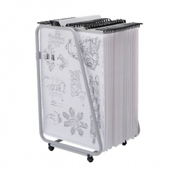 Vistaplan Artwork Carrier Front Loading Trolley