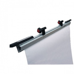 Vistaplan Grey A1 Plan Hangers No Handles (Pack of 2) HA1