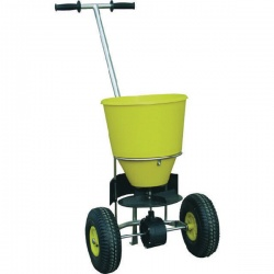 Yellow Winter Atlas 25kg Salt Spreader 3 Metres 331679