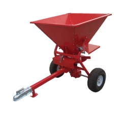 Red 350lb ATV Salt Spreader 160 Litre
