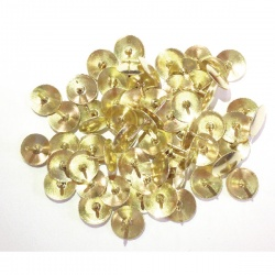 Brass Drawing Pins 12.5mm (Pack of 1000)